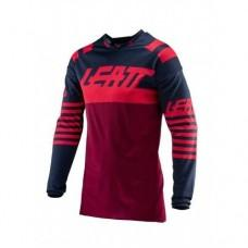 Мото джерси LEATT Jersey GPX 4.5 Lite Inked/Red, L