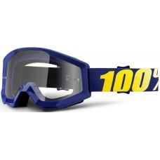 Мото очки 100% STRATA Goggle Hope - Clear Lens, Clear Lens