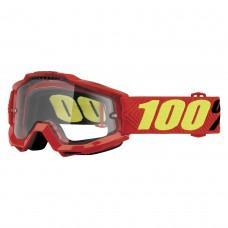 Мото очки 100% ACCURI ENDURO Goggle Tornado - Clear Dual Lens