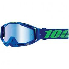 Мото очки 100% RACECRAFT Goggle Dreamflow - Mirror Blue Lens