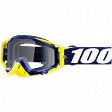 Мото очки Ride 100% RACECRAFT Goggle Bibal/Navy - Clear Lens, Clear Lens