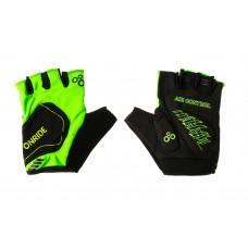 Перчатки ONRIDE Catch  зеленый/черный L