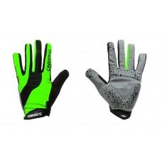 Перчатки ONRIDE Long  зеленый/ черный L