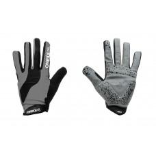 Перчатки ONRIDE Long  серый/ черный L
