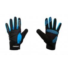 Перчатки ONRIDE Pleasure  синий/ черный L