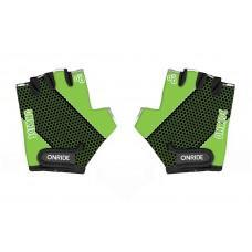 Перчатки детские ONRIDE Gem зеленый/черный 5-6 лет