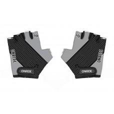 Перчатки детские ONRIDE Gem серый/черный 3-4 лет