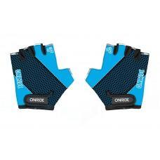 Перчатки детские ONRIDE Gem синий/черный 3-4 лет