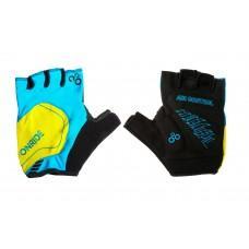 Перчатки ONRIDE Catch сине / жолтый L