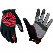 Перчатки BLUEGRASS M MAGNETE ROCK BLACK / RED