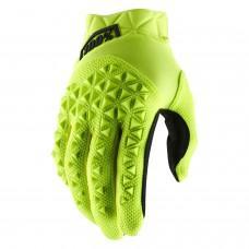 Детские мото перчатки Ride 100% AIRMATIC Youth Glove [Fluo Yellow/Black]