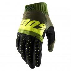 Мото перчатки Ride 100% RIDEFIT Glove Army Green/Black