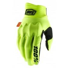 Мото перчатки Ride 100% COGNITO 100% Glove [Fluo Yellow/Black]