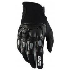 Мото перчатки Ride 100% Derestricted Glove [Black/Grey], M (9)