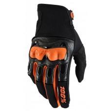 Мото перчатки Ride 100% Derestricted Glove [Black/Orange], L (10)