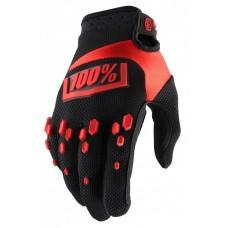 Мото перчатки Ride 100% AIRMATIC Glove [Black/Red] , S (8)
