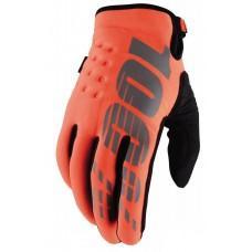 Детские зимние мото перчатки Ride 100% BRISKER Cold Weather [Cal-Trans], YL (7)