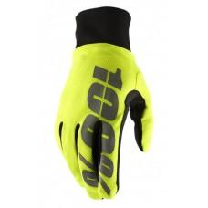 Зимние мото перчатки Ride 100% BRISKER Hydromatic Waterproof Glove [Neon Yellow], L (10)