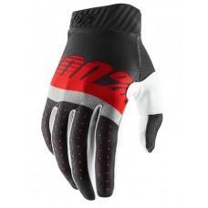 Мото перчатки Ride 100% RIDEFIT Glove [Grey/Red], M (9)