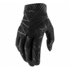 Мото перчатки Ride 100% RIDEFIT Glove Black/White