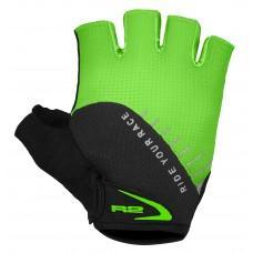 Перчатки R2 Vouk 2019 цвет зеленый черный размер XXL