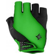 Перчатки R2 Ribbon 2020 цвет черно-зеленый р. L