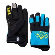 Вело перчатки RACE FACE DEWEY YOUTH GLOVE-BLUE-LG