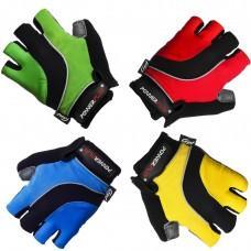 Перчатки PowerPlay 5034 (Красные, Синие, Желтые, Зеленые)