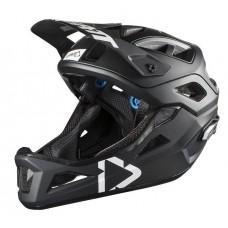 Вело шлем LEATT Helmet DBX 3.0 Enduro Black/White, L