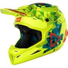 Мотошлем LEATT Helmet GPX 4.5 V22 ECE Lime/Teal, XS