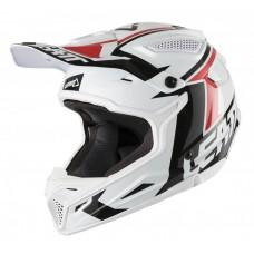 Мотошлем LEATT Helmet GPX 4.5 V20 ECE White/Black, L