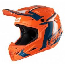 Мотошлем LEATT Helmet GPX 4.5 V20 ECE Orange/Denim, L