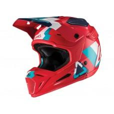 Мотошлем LEATT Helmet GPX 5.5 V19.2 Red/Teal, M