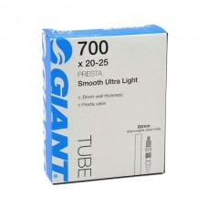 Камера Giant 700х20-25 Ultra Light Спорт 80мм гладкий