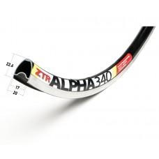 "Обод Stan's NoTubes ZTR Alpha 340 28"" 32 от. под V-Brake чёрный"