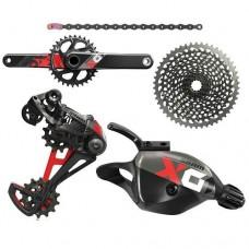 Групсет SRAM AM X01 EAGLE DUB 175 BOOST GROUPSET RED