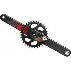 Шатуны SRAM  X01 EAGLE AM FC X01 EAGLE DUB 175 RED DM 32T