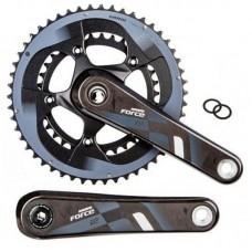Шатуны SRAM FORCE22 GXP 175 53,39Т Yaw, GXP Cups NOT included