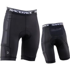 Вело шорты RACE FACE STASH MENS LINER-STEALTH-L