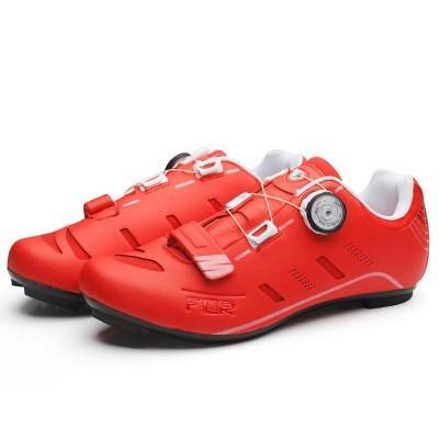 Велосипедные туфли шоссе FLR F-22 (+ носки.) Красный