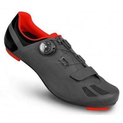 Велосипедные туфли шоссе FLR F-11 черный / красный