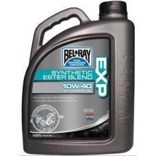 Масло моторное Bel-Ray EXP SYNTHETIC ESTER BLEND 4T [4л], 10w-40