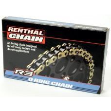 Цепь мото Renthal R3-3 Chain 520-124L