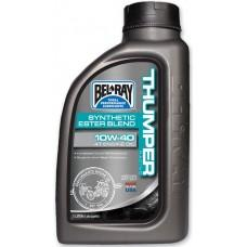 Масло моторное Bel Ray THUMPER RACING SYNTHETIC ESTER 4T [1л], 15w-50