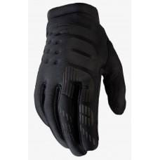 Детские зимние мото перчатки Ride 100% BRISKER Cold Weather [Black], YM (6)