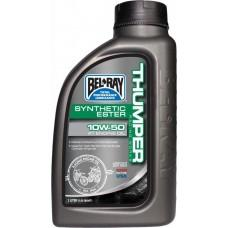 Масло моторное Bel Ray WORKS THUMPER RACING SYNTHETIC ESTER 4T [1л], 10w-60