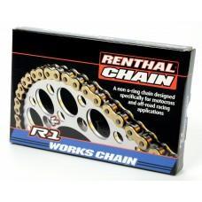 Цепь мото Renthal R1 MX Works Chain 520-118L