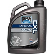 Масло моторное Bel-Ray EXL Mineral 4T Engine Oil [4л], 20w-50