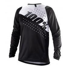Вело джерси Ride 100% R-CORE Jersey [Black], M