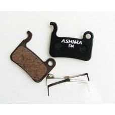 Дисковые тормозные вело колодки ASHIMA для SHIMANO XTR; Saint; DEORE XT; DEORE LX; HONE; DEORE; SLX
